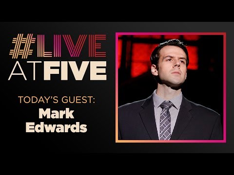 Broadway.com #LiveatFive with Mark Edwards of JERSEY BOYS
