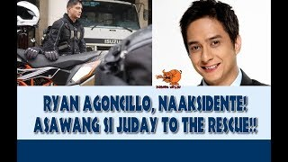 RYAN AGONCILLO, NAAKSIDENTE!! JUDAY TO THE RESCUE!!
