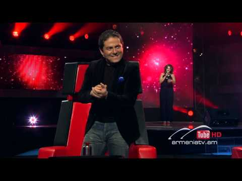 Mane Sargsyan,Crazy By Cee Lo Green - The Voice Of Armenia - Blind Auditions - Season 2