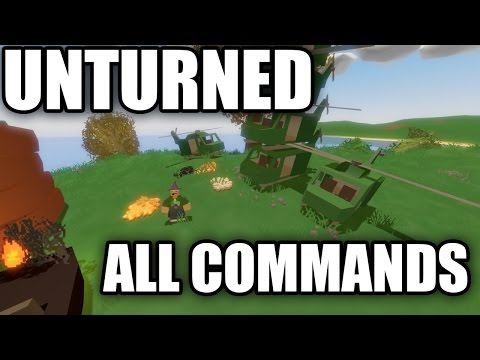 HOW TO USE COMMANDS FOR YOUR UNTURNED SERVER!
