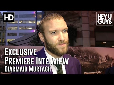 Diarmaid Murtagh Interview - Dracula Untold Premiere (HD)