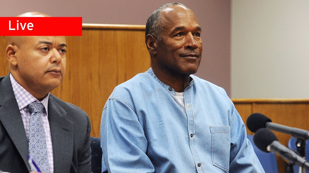 OJ Simpson parole hearing updates: 'I've done my time,' says a slimmer Hall of Famer