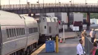Riding Lake Shore Limited 49 6/28/14 and 6/29/14 Part 3 - Albany to Chicago