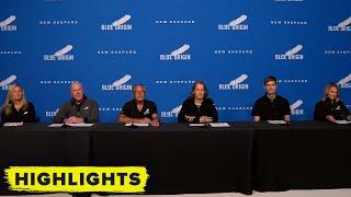 Watch Blue Origin's Pre Launch Mission Briefing