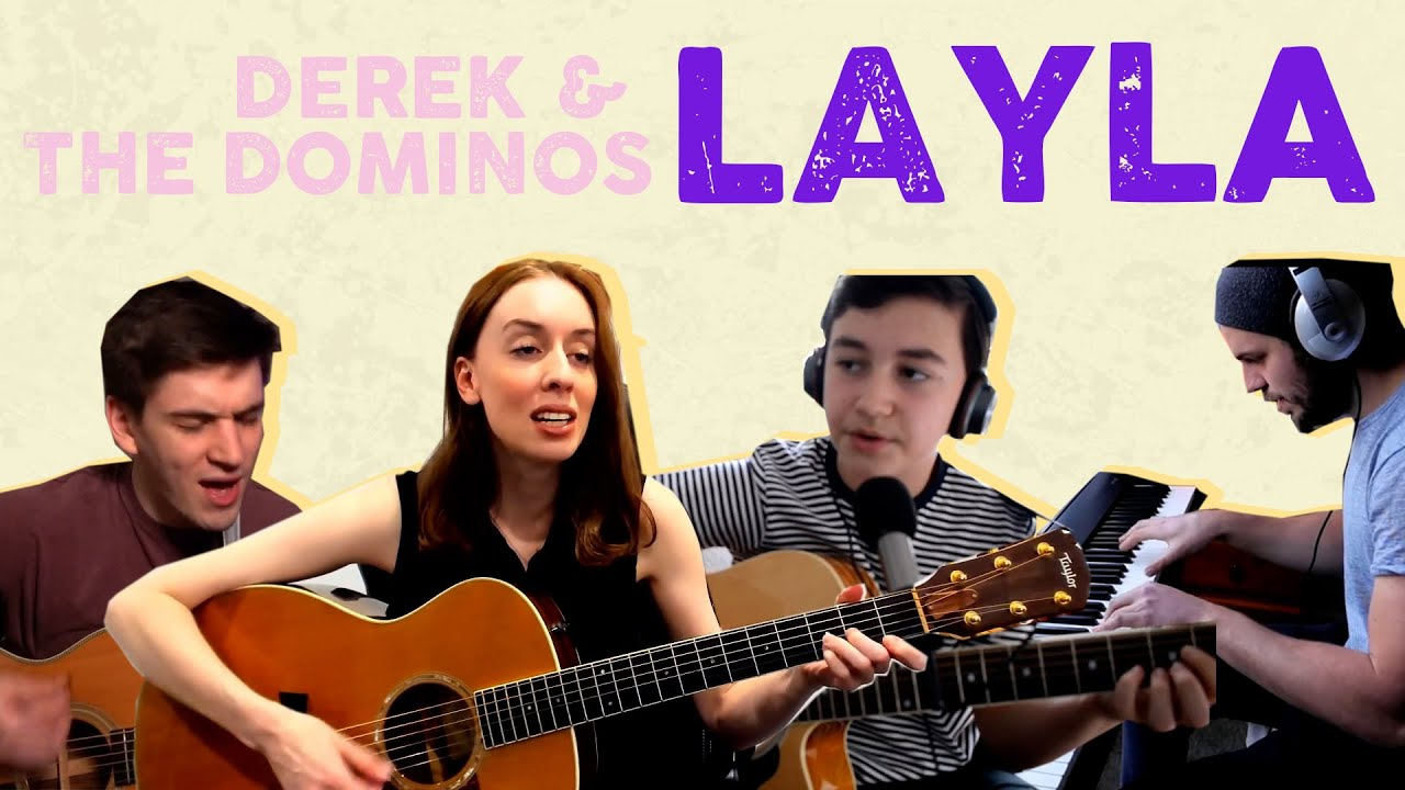 DEREK & THE DOMINOS - LAYLA performed by the fans!