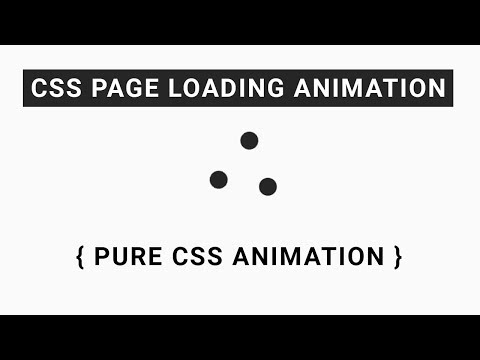 Page loading animation with css Your Videos on VIRAL CHOP VIDEOS