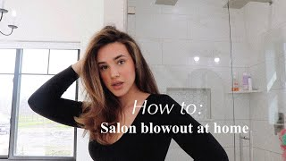 How To: Salon Blowout At Home | Payten Silva
