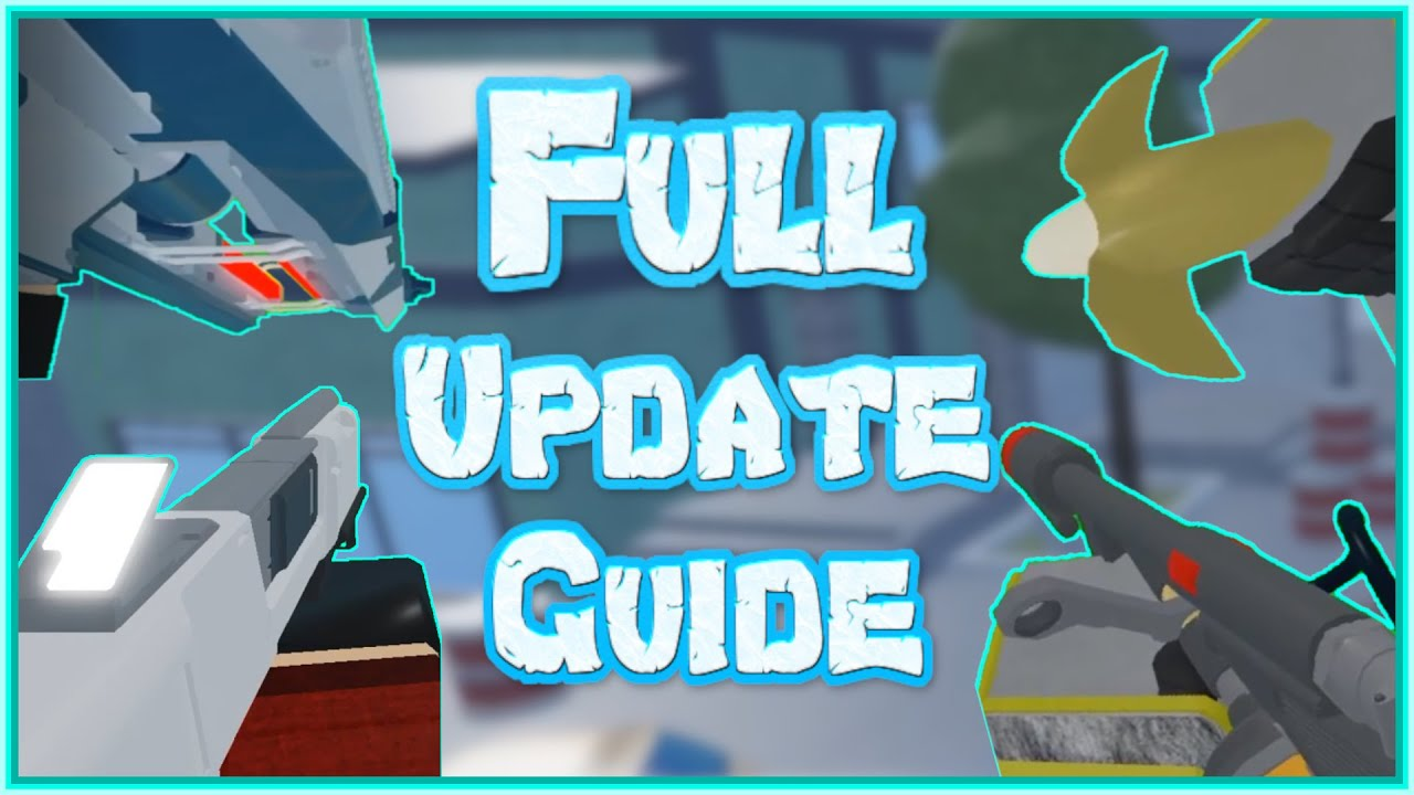 arsenal summer update full guide weapons and maps roblox arsenal