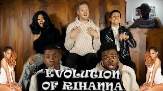 EVOLUTION OF RIHANNA - PENTATONIX | REACTION