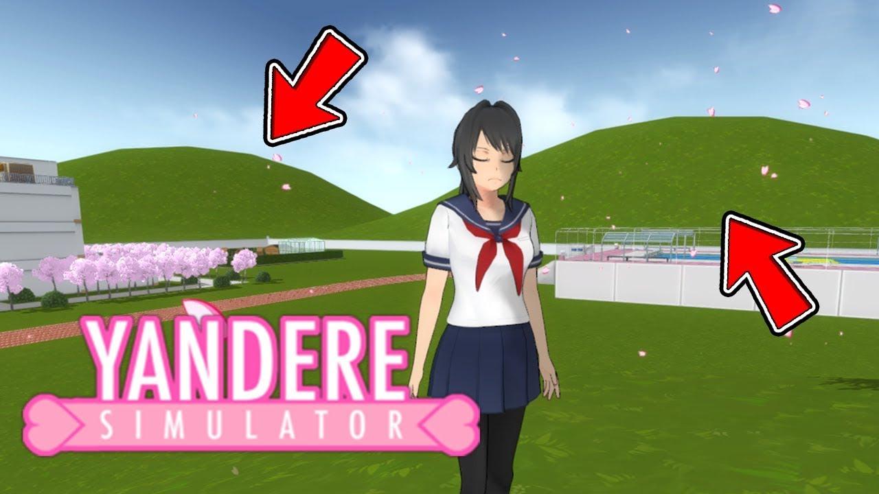 There S Hills In Yandere Simulator Background Saki Protects Kokona Yandere Simulator
