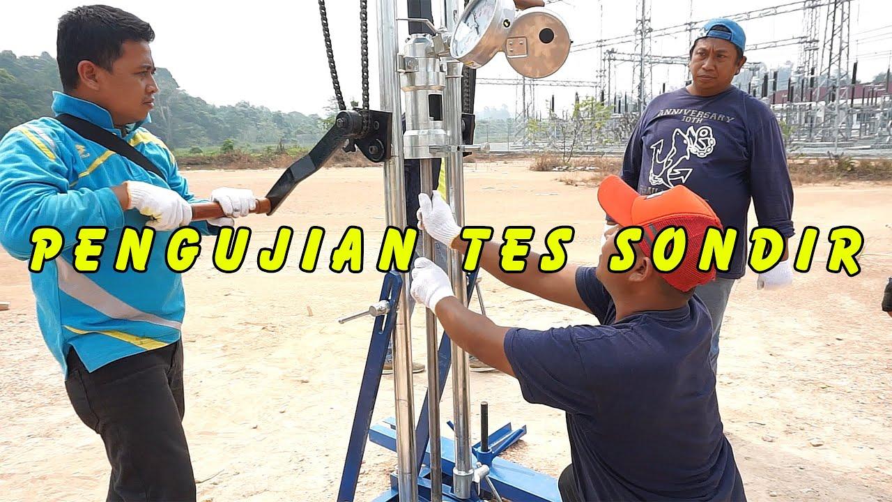 Soil Test Menggunakan Alat Uji Sondir Tahapan Pengujian Tes Sondir Part1 Youtube