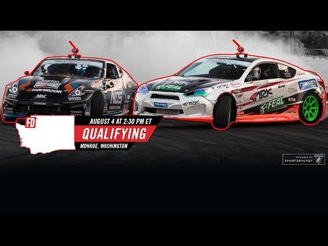 Network A Presents: Formula Drift Monroe - Qualifying Round LIVE!
