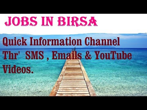 Jobs in BIRSA  for freshers & graduates. industries, companies. TURKEY