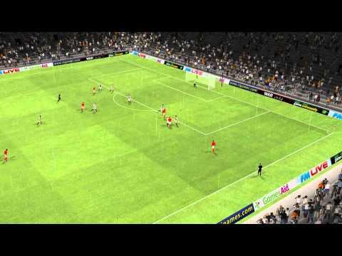 [FM 2011] Charleroi vs Benfica - Golaço de Alan Kardec!