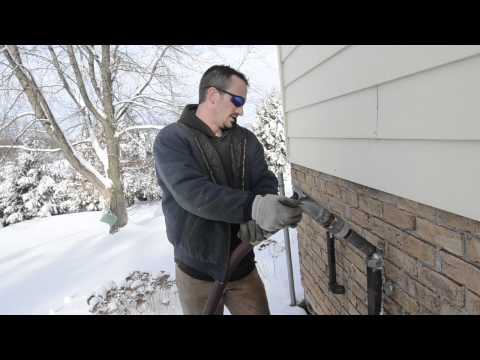 Winter home heating oil delivery