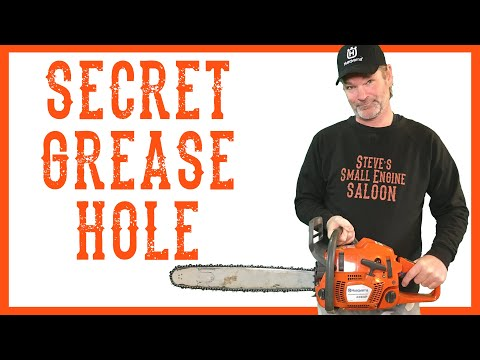 How To Fix A Husqvarna Chain Saw When The Chain Won't Stop Turning - Video
