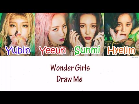 Wonder Girls – DRAW ME Lyrics [HAN|ROM|ENG]