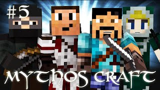"MYTHOS CRAFT - ""PECH TO THE RESCUE"" - Minecraft Roleplay #5"