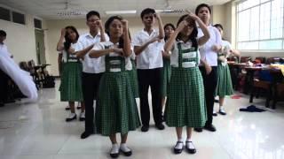 Nutrition Month Jingle 2014 - Practice Video (lavoisier '14-'15)