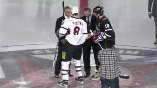 [HD] Матч Звезд КХЛ 2012 / KHL All Star Game 2012(Обзор Матча Всех Звезд КХЛ 2012 KHL All Star Game 2012 Highlights., 2012-01-21T21:46:23.000Z)