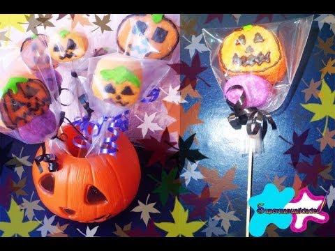 Dulces calabazas para halloween supermanualidades youtube - Decoracion calabazas para halloween ...