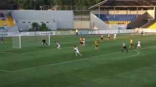 3-й тур 09-08-2014 ФК Александрия - Нефтяник Ахтырка 2-1 _ сезон 2014-2015