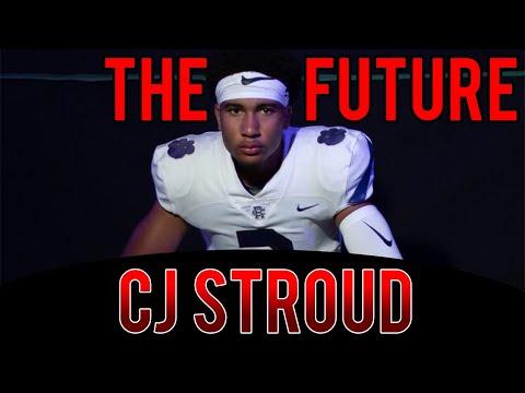 The Next Patrick Mahomes?!? CJ Stroud High School Football Highlights Ohio State Football Commit