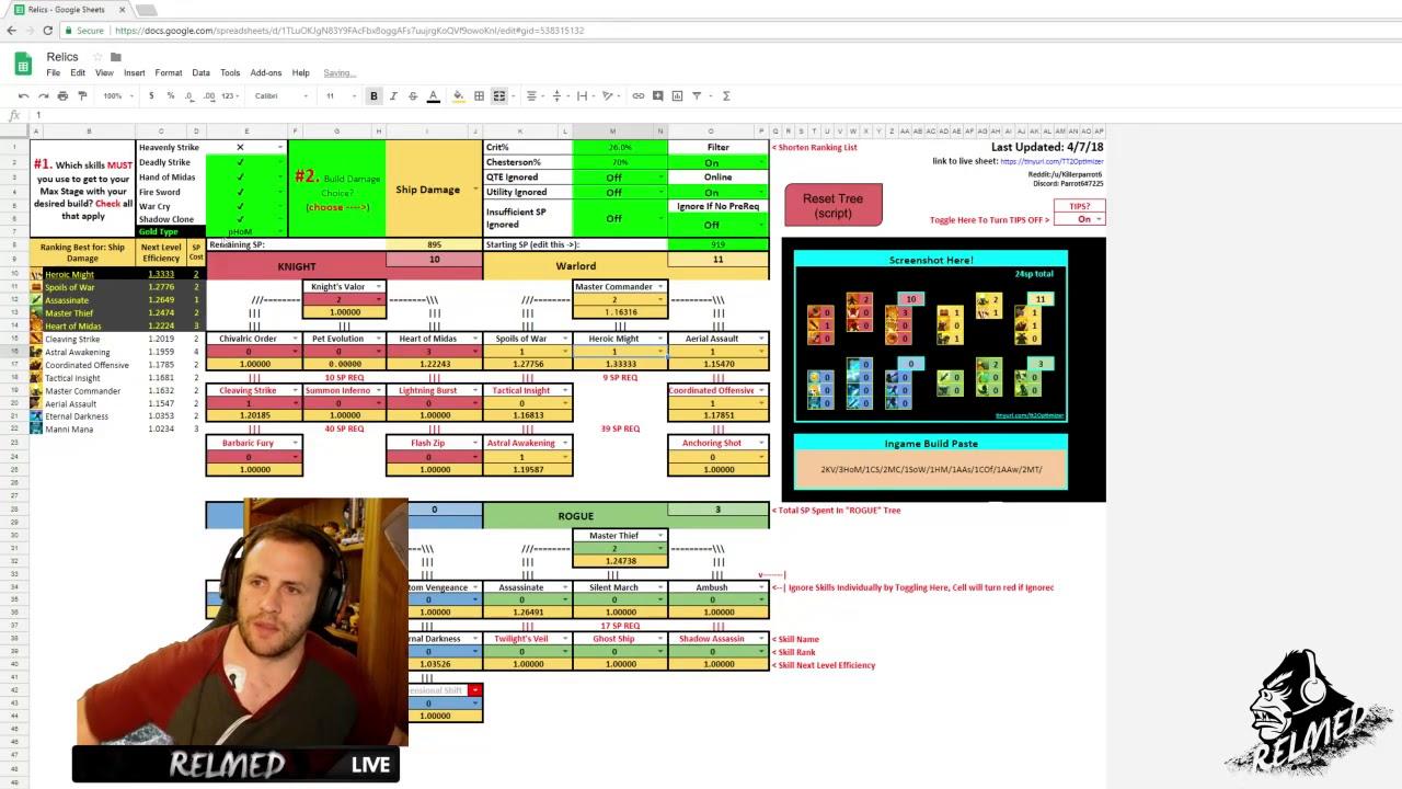 Tap Titans 2 2 7 Optimizer Guide by Relmed