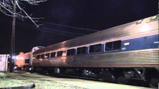 Amtrak Cardinal with Prototype Viewliner Huntington, WV [HD]