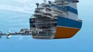 Атомный двухосадочный ледокол проекта 22220 часть 2
