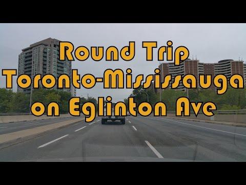 Summer 2016 Round Trip Toronto (Black Creek Dr.) - Mississauga (Dixie Road) on Eglinton Ave