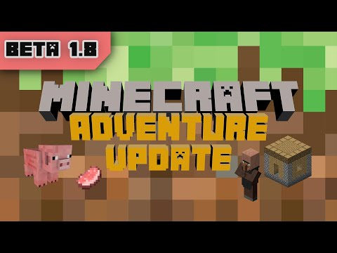 Minecraft Update: Minecraft Beta 1.8