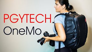 PGYTECH OneMo Backpack.  The Most Versatile Camera and Travel Bag Review