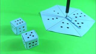 Make ludo dice in three different processpaper ludo dicediy craft