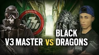 [BR] V3 MASTER vs. BLACK DRAGONS | Play Day 6 | EliteSix S07 (PC)