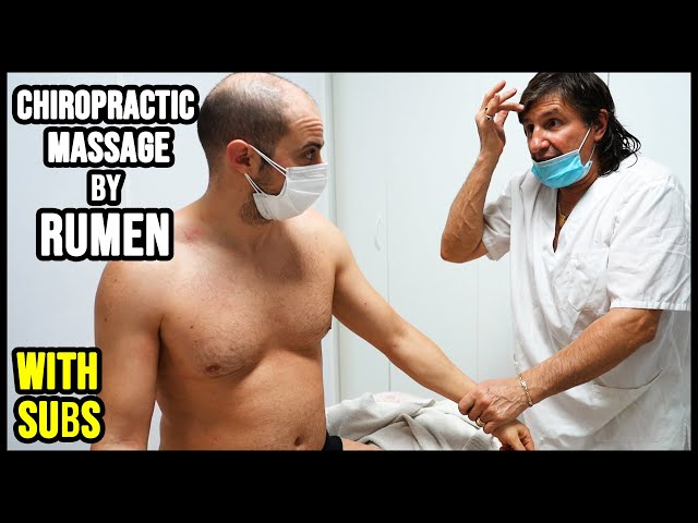 CHIROPRACTIC FULL BODY MASSAGE by RUMEN   HUGE CRACK and SUBS 💆 ASMR relaxing voice and whispers