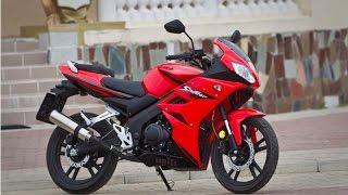 sagitta Spitzer CBR 150 Обзор #2. Китайский мотоцикл конкурент Stels SB 200 (Loncin)