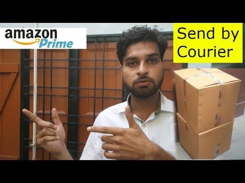 Amazon Prime #9 - Send by Courier @ Amazon FBA Center