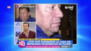Su padre vive un calvario: Conocido empresario de 41 años desapareció hace catorce días en Pucón