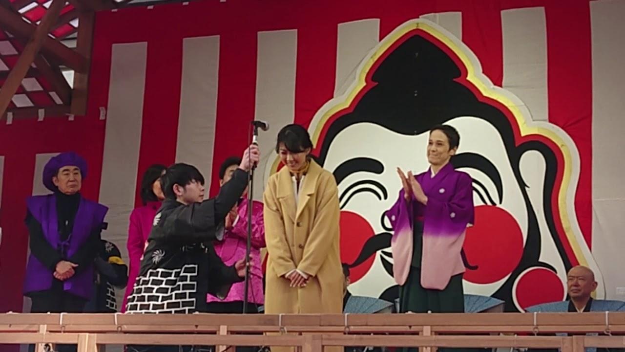 NHK 連続テレビ小説 スカーレット 福田麻由子 2020 宝恵駕篭 壇上挨拶