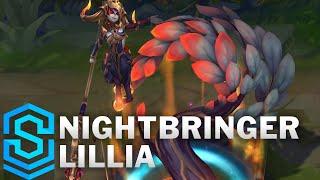 Nightbringer Lillia Skin Spotlight - Pre-Release - League of Legends