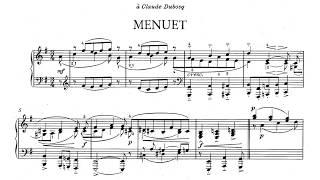 Erik Satie ~1920~ Premier Menuet