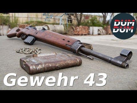 Gewehr 43 opis puške