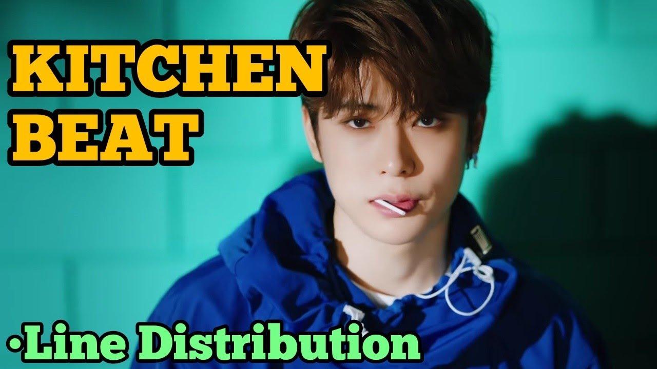 Nct 127 kitchen beat line distribution