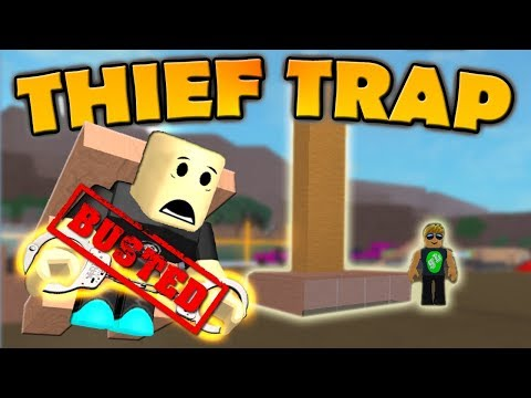 Lumber Tycoon 2 - THIEF TRAP