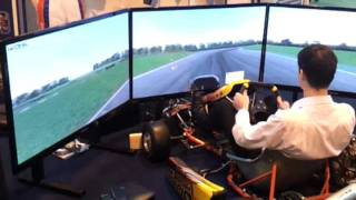 Dan Wells - iZone karting @ Autosport 2012