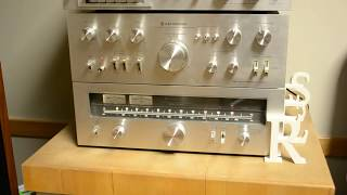 Vintage Kenwood Stereo System With Klipsch Heresy Speakers