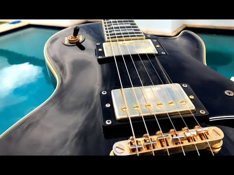Epiphone Les Paul Custom PRO - Demo, Pickup Position Sounds and Fun