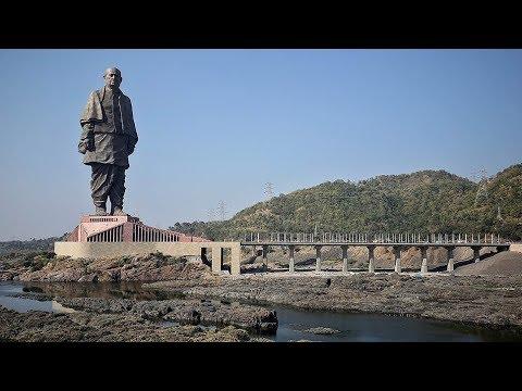 Самую высокую статую в мире открыли в Индии