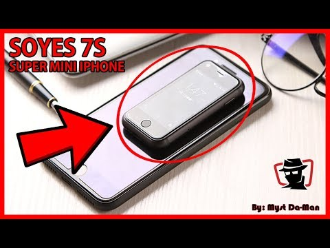 Soyes 7S - Worlds Smallest iPhone Exists? First Impressions & Review